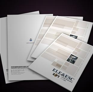 宣传单页画册
