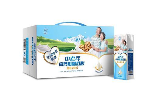 西部印象中老年高钙低糖低脂