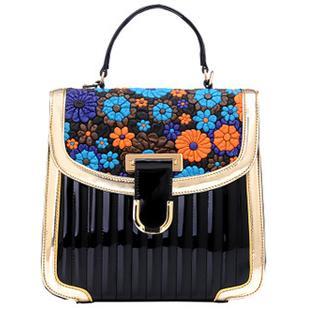 2014韩版新款复古手提包