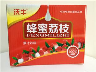 蜂蜜荔枝纸盒包装设计