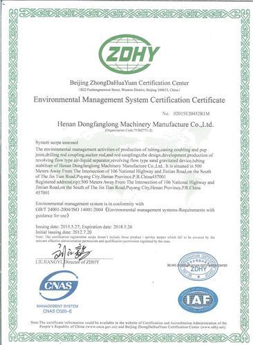 Environmental Manage