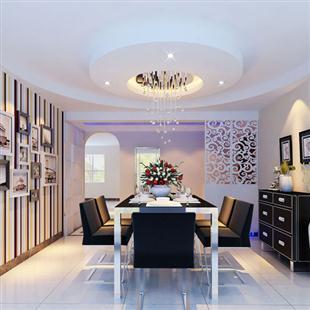 餐厅吊顶设计,室内装修设计