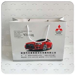 汽车白卡纸手提袋系列