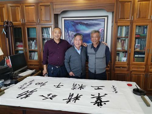 河南省博物院杜院长及古建专家李永革为我公司题词
