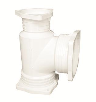 frpp排水管件-瓶型三通