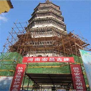 安徽安庆振风塔维修保护工程