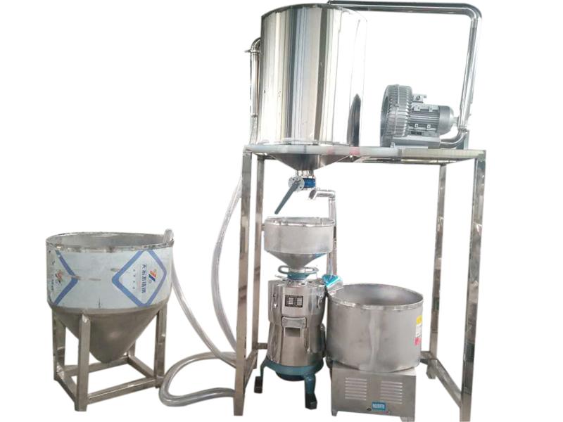 大豆提升系統