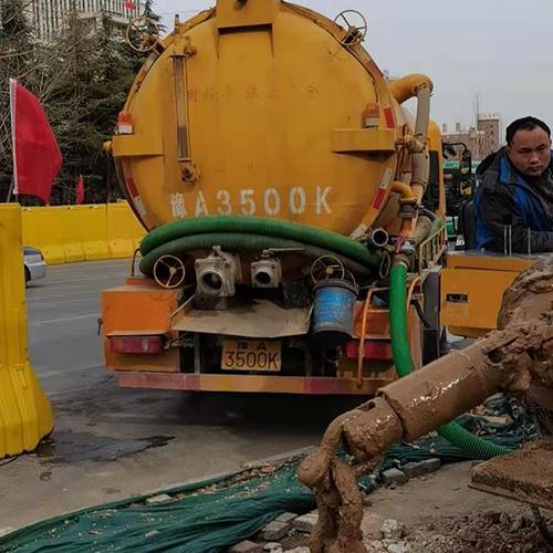 市政定向转抽泥浆