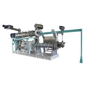 湿法双螺杆水产膨化机
