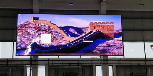 机场集团文体中心项目室内全彩P3