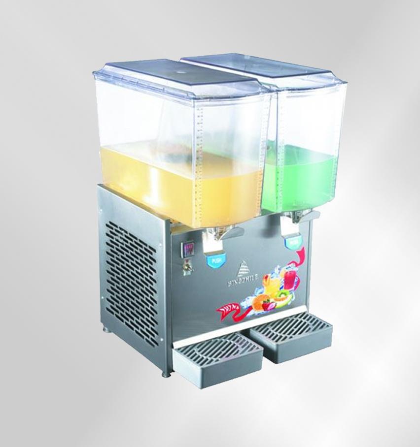 20*2搅拌型双缸双温果汁机