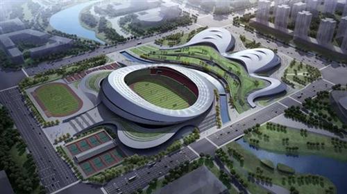 樂山奧體中心項目