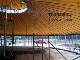 大型钢架蒙古包多少钱一个