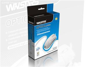 光学鼠标纸盒包装设计