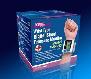 血压监护器 纸盒包装设计