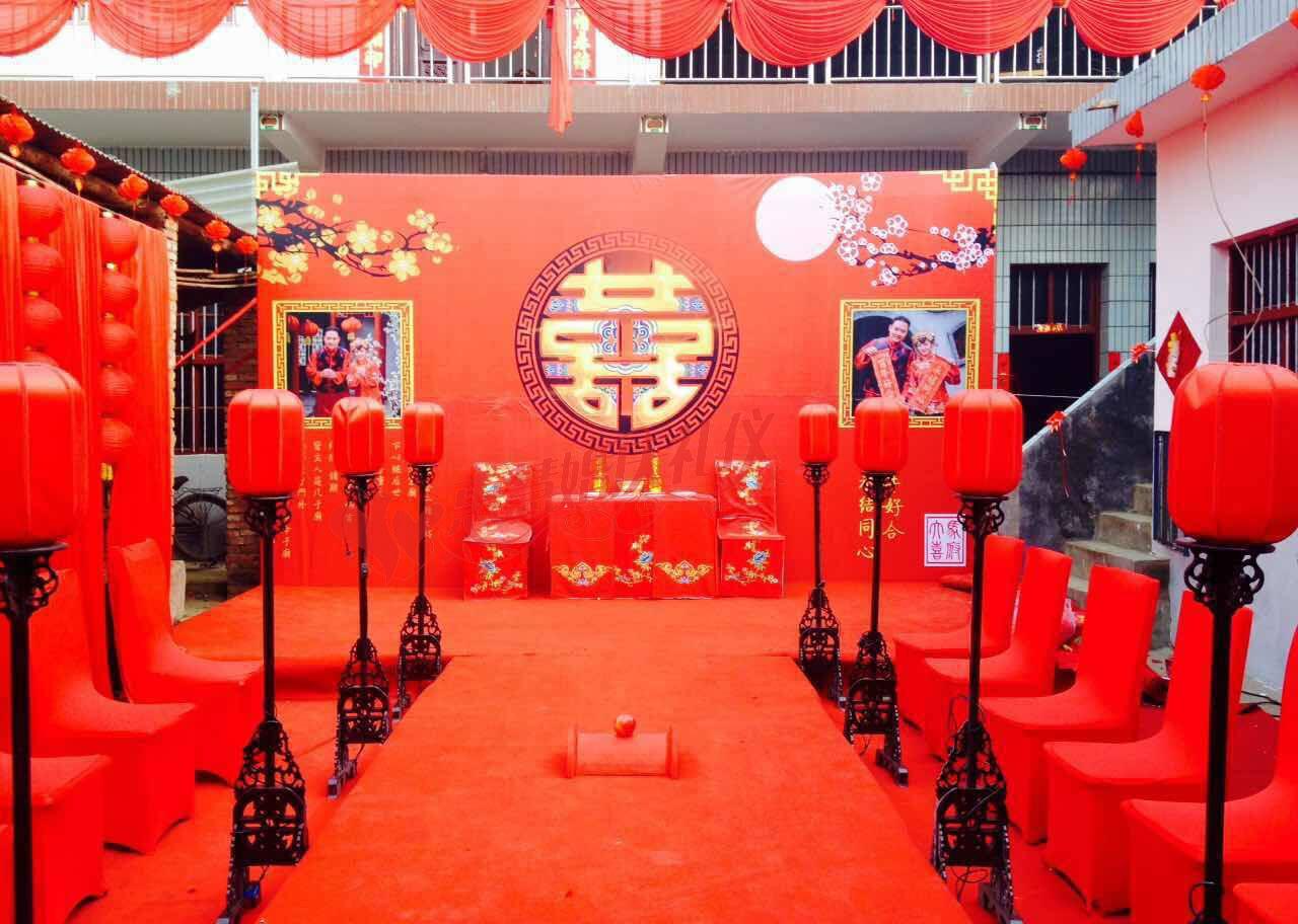 社旗婚庆 惠慧婚庆咱家的婚礼之新中式婚礼图片