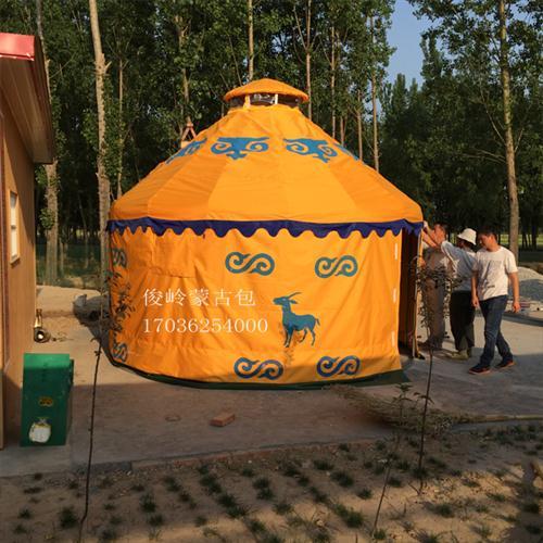 景区旅游农家乐蒙古包厂家直销