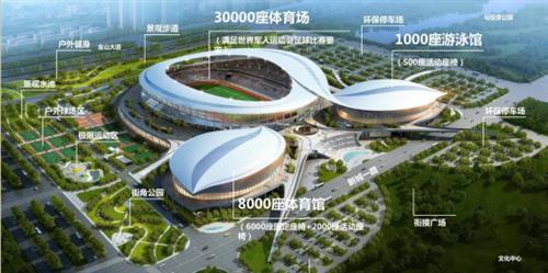 2019年武汉军运会场馆-武汉五环体育中心