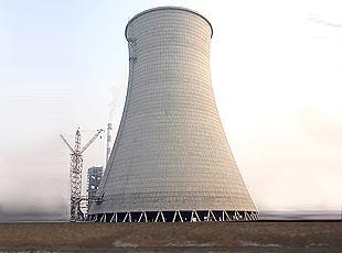 焦作电厂冷却塔