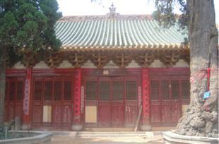 新密超化寺维修保护工程
