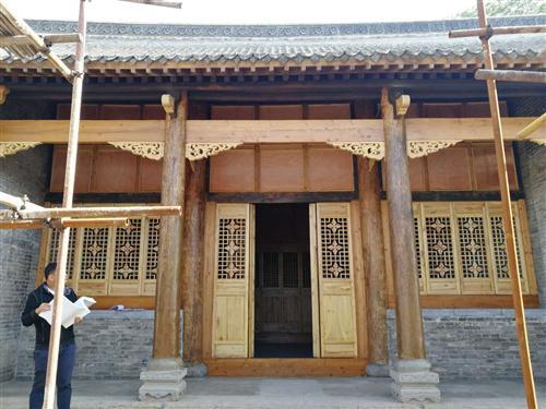 豫西行政干部学校旧址(宝丰县杨家大院)古建筑修缮工程
