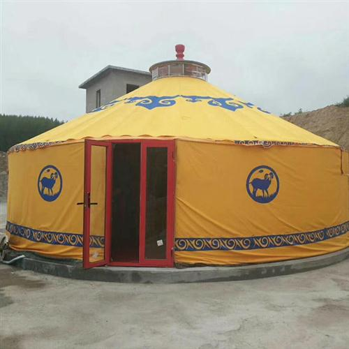 旅游景区蒙古包