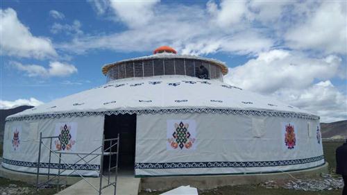 蒙古包的外墙帆布防水防雨那个颜色效果好