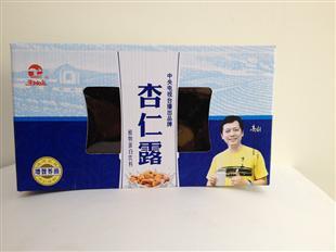 杏仁露纸盒包装设计