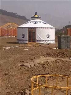 厂家直销蒙古包|军绿环保牛津布住宿蒙古包多少钱一个