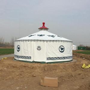 豪华钢架蒙古包厂家供货|质量有保障