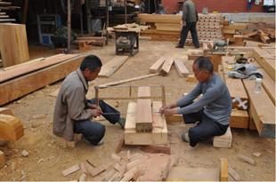 安阳定国寺大殿恢复重建工程