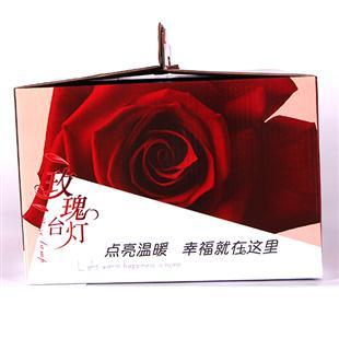案例鉴赏 展示类纸箱 台灯 包装箱展示  所属分类:展示类纸箱 关 键