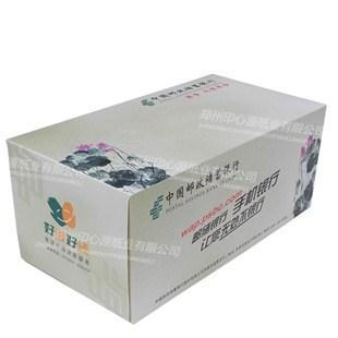 中国邮政储蓄银行盒抽纸