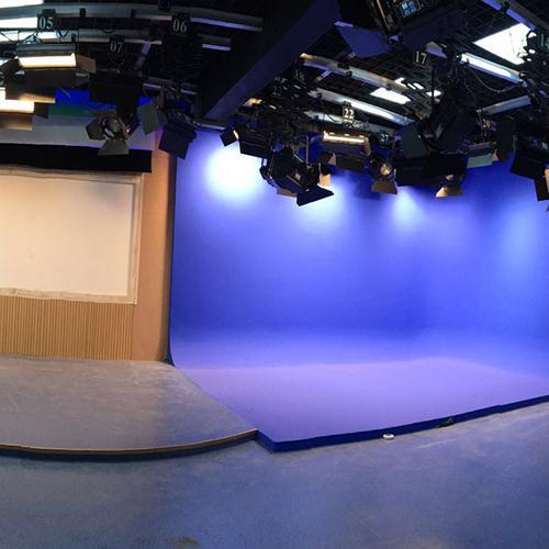 双景区演播室
