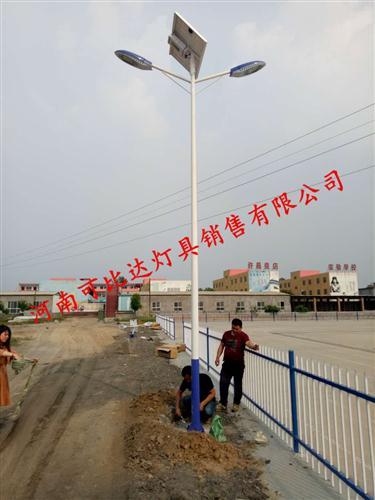 许昌灵井镇新农村太阳能路灯工程