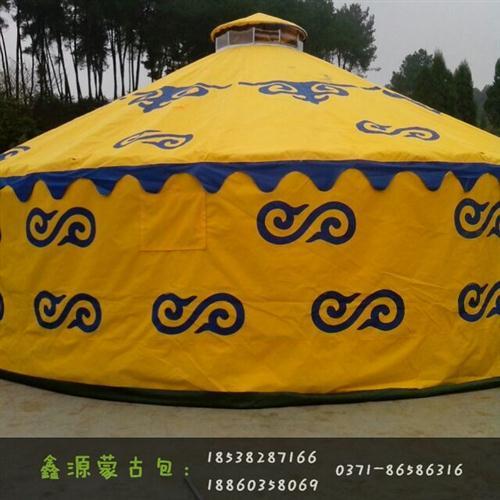 黄色高档蒙古包