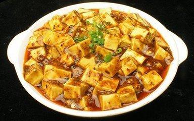 12元麻辣豆腐饭