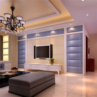 室内家居设计现代东南亚客餐厅装修