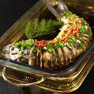 平锅葱香鱼