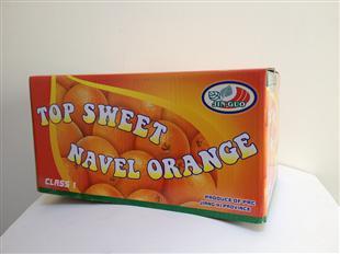 脐橙纸盒包装设计