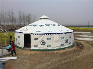 农家乐圆顶帐篷窗户遮阳棚