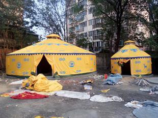 农家乐圆顶帐篷专业供货商