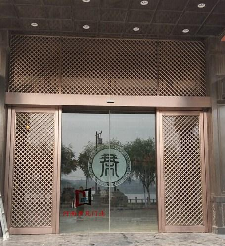 开封文化厅自动门
