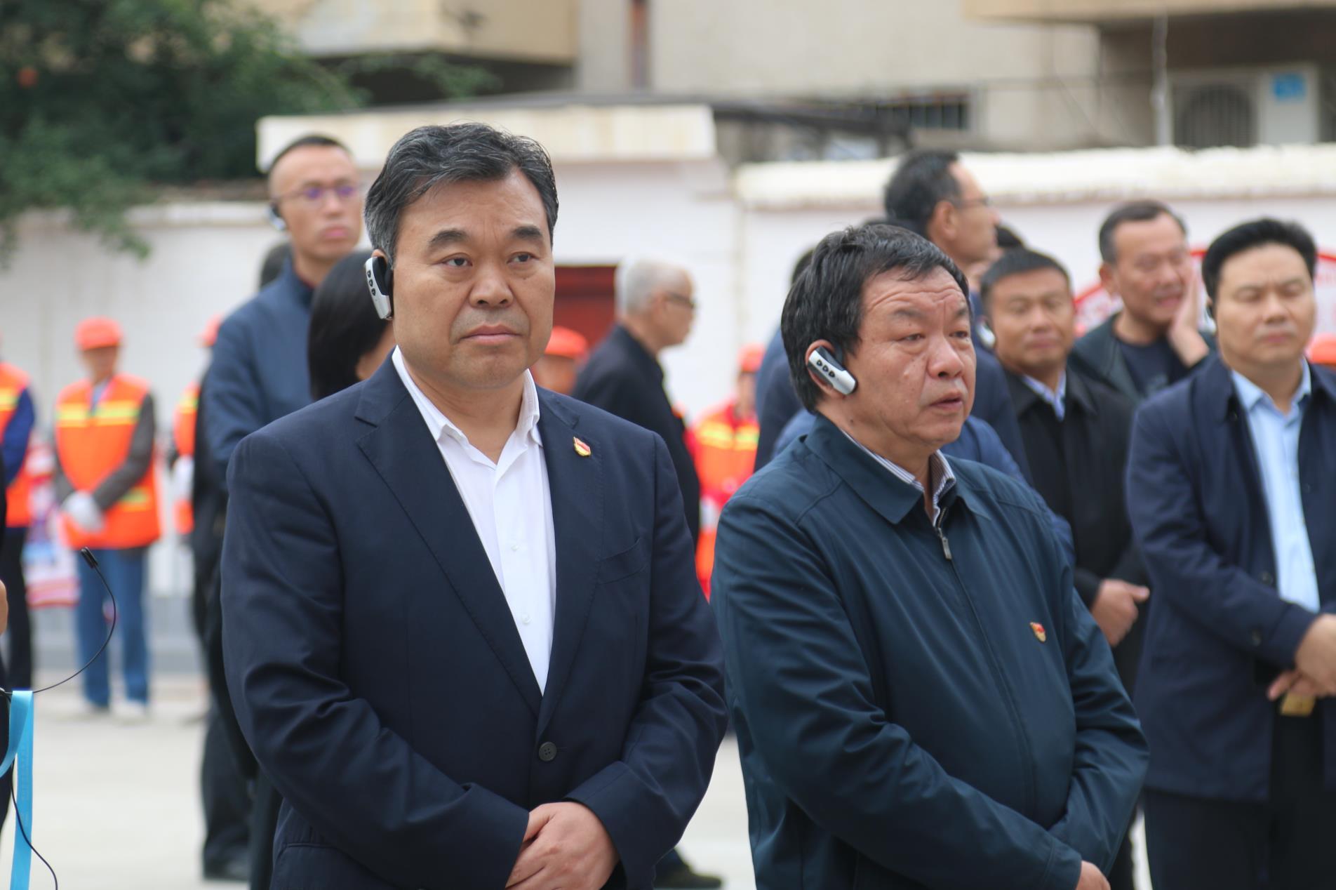 市委书记、市人大常委会主任刘继标莅临创卫鑫苑小区调研