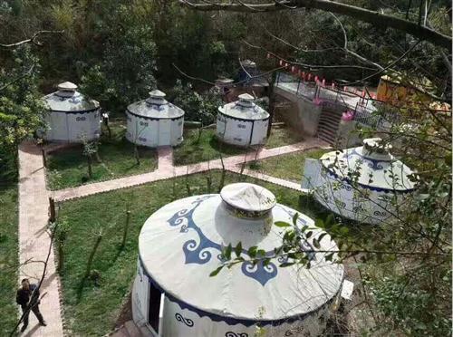 大型农家乐蒙古包订做|蒙古包能容纳多少人吃饭