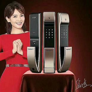 凯迪仕指纹锁智能锁郑州凯迪仕指纹锁专卖店
