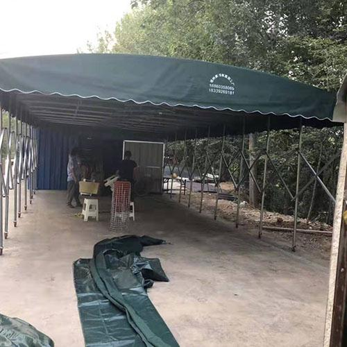 推拉帐篷厂家供货