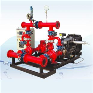 消防双动力给水设备