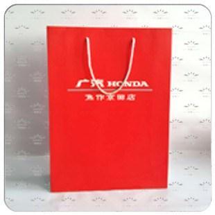4S店白卡纸手提袋系列