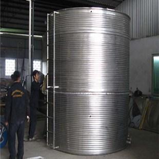 供应圆柱型不锈钢水箱